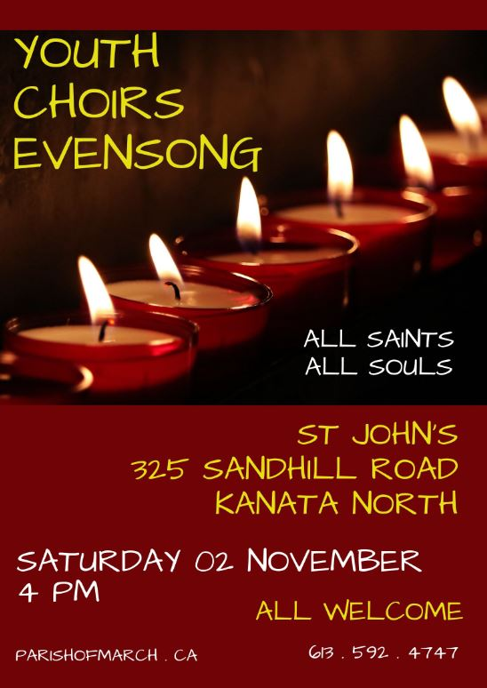 Youth Choirs Evensong